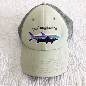 NEW Patagonia Shark Logo Snapback Trucker Hat